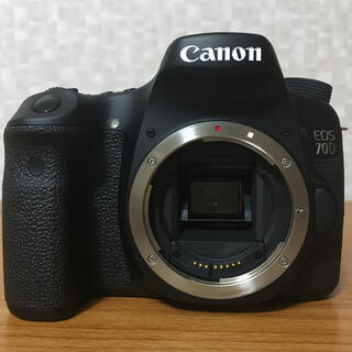 キヤノン(Canon)の超美品 Canon EOS 70D ボディのみ(デジタル一眼)