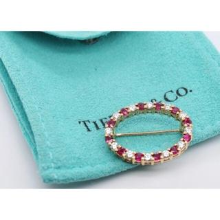 ティファニー(Tiffany & Co.)の【美品】ティファニー Tiffany アンティーク k18ブローチ(ブローチ/コサージュ)