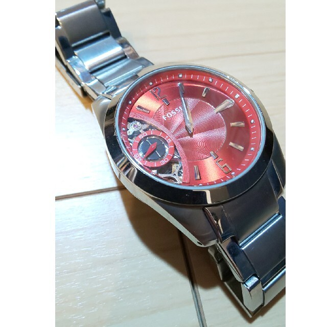FOSSIL(フォッシル)のFOSSIL 機械式自動巻き 腕時計 メンズの時計(腕時計(アナログ))の商品写真