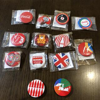 コカコーラ(コカ・コーラ)の【1個100円】コカ・コーラ 缶バッジ(バッジ/ピンバッジ)