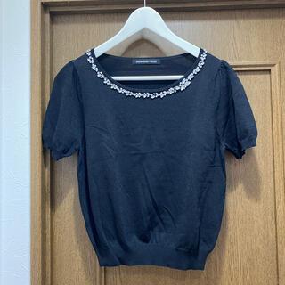 ストロベリーフィールズ(STRAWBERRY-FIELDS)の ビジュー トップス(Tシャツ(半袖/袖なし))