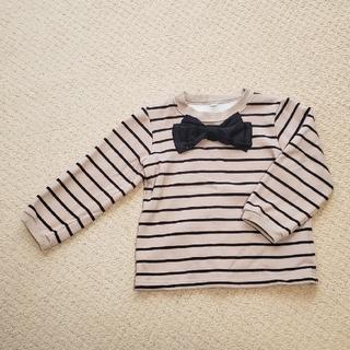 ニシマツヤ(西松屋)の裏起毛 トレーナー 100(Tシャツ/カットソー)