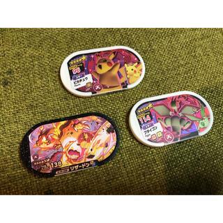ポケモン(ポケモン)のメザスタ第3弾 リザードン、ピカチュウ、フライゴン(その他)