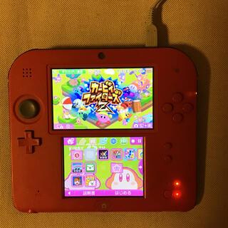 ニンテンドー2DS(ニンテンドー2DS)の任天堂2ds 充電器 ソフト付き(携帯用ゲーム機本体)