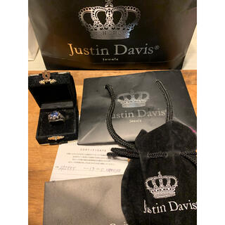 ジャスティンデイビス(Justin Davis)のジャスティンデイビスFuture Wheel Ring (SRJ555) #13(リング(指輪))