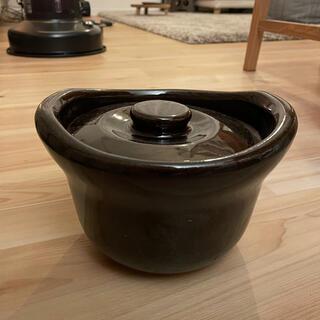 ムジルシリョウヒン(MUJI (無印良品))の無印 土釜おこげ 1.5合炊き(炊飯器)