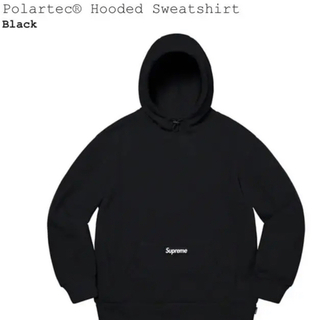 シュプリーム(Supreme)のsupreme polartec hooded sweatshirt(パーカー)