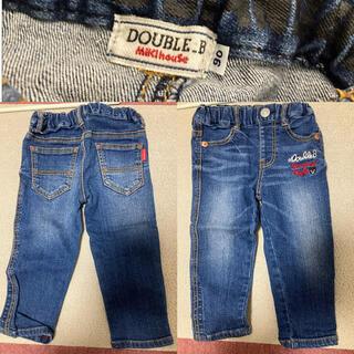 DOUBLE.B - Double.B キッズパンツ