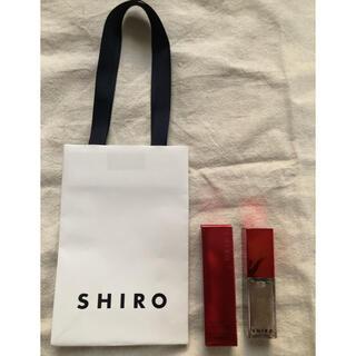 シロ(shiro)の新品未使用品!【シロ】shiro エッセンスリップバター 9K01 リップ美容液(リップグロス)