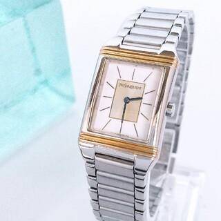 Saint Laurent - ⭐OH済 綺麗 サンローラン 新品仕上げ コンビ レディース腕時計ブレス 極美品