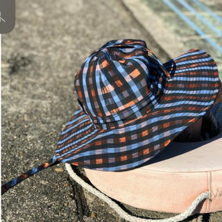 TODAYFUL - Solov 未使用 CHECK REVERSIBLE SAFARI HAT