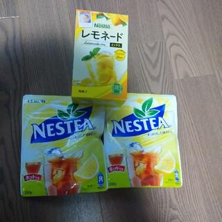 Nestle - NESTEA レモン 2袋&レモネードmix 1箱