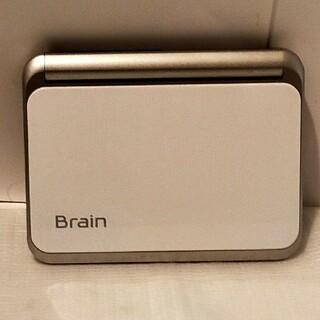 SHARP - 送料無料!シャープ電子辞書Brain/ブレーン/PW-A7000/ホワイト