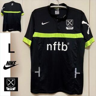 NIKE - 【L】NIKE NFTB プラシャツ 黒黄 ナイキ