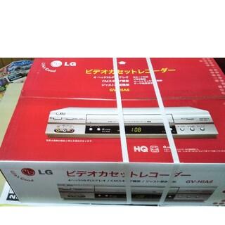 エルジーエレクトロニクス(LG Electronics)のLG の ビデオカセットレコーダー 新品未使用品 品番GV-HIA6(その他)