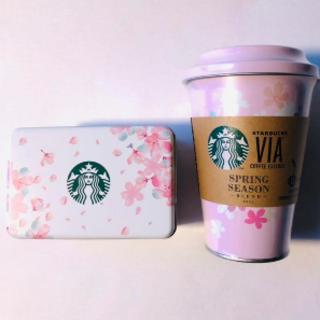 スターバックスコーヒー(Starbucks Coffee)のスターバックスVIA さくら&ベリーチョコクッキー さくら2021 新品未開封(その他)