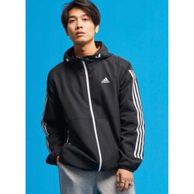 adidas(アディダス)の adidas ウインドブレーカー 未使用品 メンズのジャケット/アウター(ナイロンジャケット)の商品写真