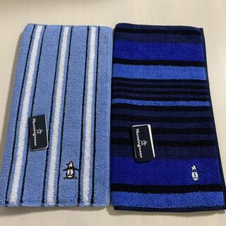 マンシングウェア(Munsingwear)の munsingwear メンズハンカチ2枚セット(ハンカチ/ポケットチーフ)