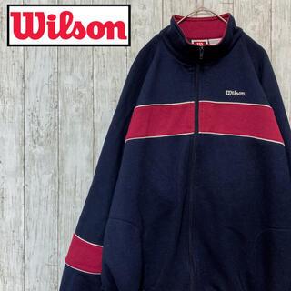 ウィルソン(wilson)の〔古着〕wilson ウィルソン ジップスウェット(スウェット)