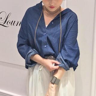 ラウンジドレス(Loungedress)のラウンジドレス 17SS 新品 デニムシャツ(シャツ/ブラウス(長袖/七分))