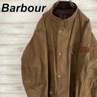 バーブァー(Barbour)のLサイズ 古着 バブアー インターナショナル オイルドジャケット ブラウン 茶色(ミリタリージャケット)