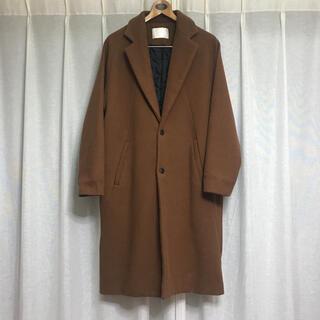 ゴゴシング(GOGOSING)の韓国 購入 ベージュ ロングコート CRUNKY YOUTH(ロングコート)