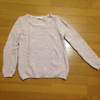 ショコラフィネローブ(chocol raffine robe)の☆新品☆イーハイフン ピンクニット(ニット/セーター)