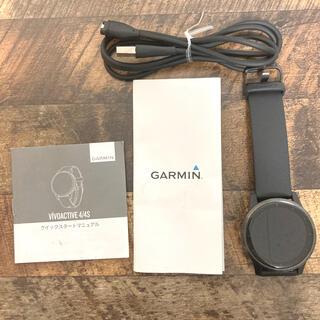 ガーミン(GARMIN)のgarmin vivoactive4(腕時計(デジタル))