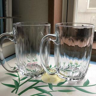 デュラレックス(DURALEX)のデュラレックス クリアガラスマグ 2個 タンブラー(ガラス)