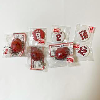 広島東洋カープ - 広島東洋カープ グッズ キーホルダー ストラップ 缶バッチ