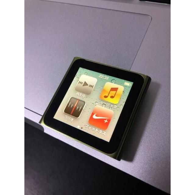 iPod(アイポッド)のiPod nano第6世代 8GB 動作確認済 スマホ/家電/カメラのオーディオ機器(ポータブルプレーヤー)の商品写真