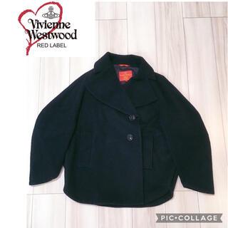 Vivienne Westwood - vivienne ヴィヴィアンウエストウッド Pコート ショート丈 黒