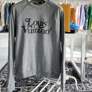 LOUIS VUITTON - 限定コットングレーのスウェットシャツ長袖Tシャツ