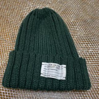 ジーユー(GU)の⑦GU ニット帽 ニットキャップ(ニット帽/ビーニー)