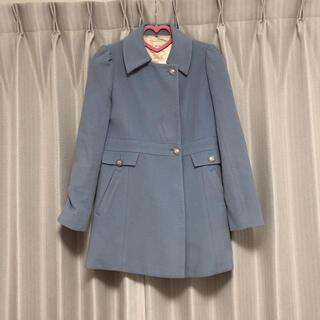 ミーア(MIIA)のコート MIIA ミーア 水色 ブルー イング ジルスチュアート スナイデル(ロングコート)