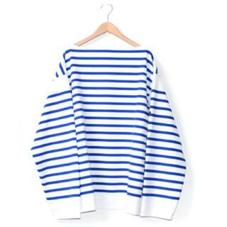 コモリ(COMOLI)のOUTIL ウティ TRICOT AAST バスクシャツ(カットソー(長袖/七分))
