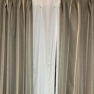 ウニコ(unico)のオーダーカーテン 196cm×219cm(カーテン)