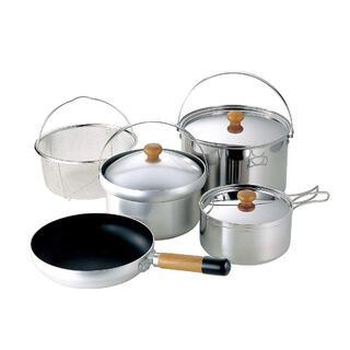 ユニフレーム(UNIFLAME)のユニフレーム fan5 DX クッカーセット 鍋 新品未使用(調理器具)