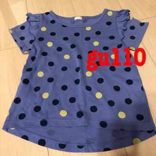 GU - Tシャツ 女の子 gu 110