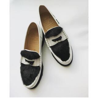 ドゥロワー(Drawer)のDrawer 定価8.6万円ドゥロワー✖️パラブーツ(ローファー/革靴)