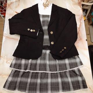 サンカンシオン(3can4on)のUSED  3can4on  女の子 フォーマル3点セット(ドレス/フォーマル)
