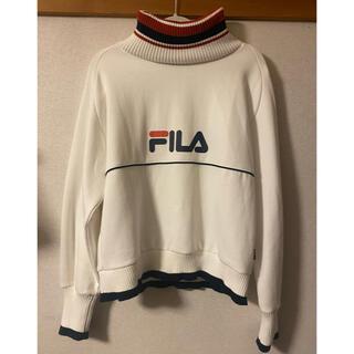FILA - FILA タートルネックプルオーバー