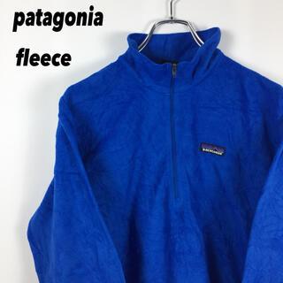 patagonia - 古着 patagonia パタゴニア フリース 薄手 スウェット ロゴ タグ