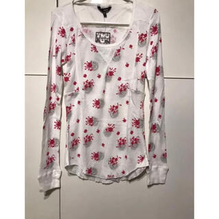 ハーレー(Hurley)のHurley☆ハーレー 長袖カットソー☆小花柄/XS(Tシャツ(長袖/七分))