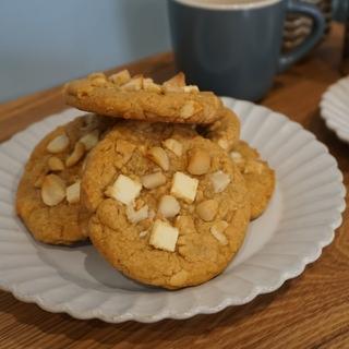 ごろごろチョコチャンククッキー ホワイトマカダミアカシュー 3枚セット(菓子/デザート)