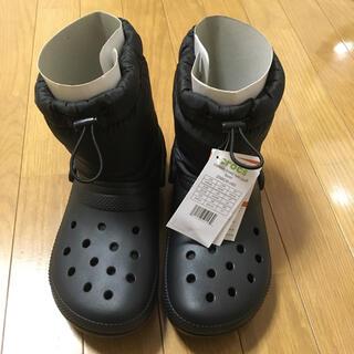 crocs - 【新品タグ付き】クロックス ボアブーツ 24cm