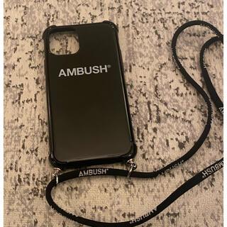 アンブッシュ(AMBUSH)のambush スマホケース(iPhoneケース)