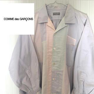 COMME des GARCONS - 【激レア】90年代 コムデギャルソン オム パステルカラー 淡色 切替 9分丈