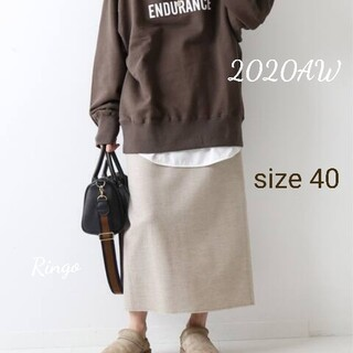FRAMeWORK - 【2020AW】ツイルジャージータイトスカート◆size 40