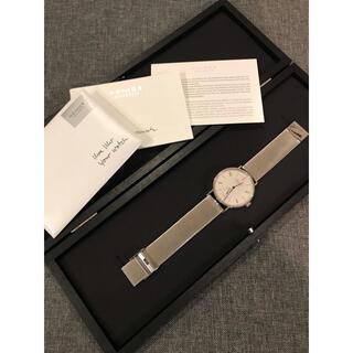 ユンハンス(JUNGHANS)のnomos ノモス タンジェント ネオマティック 限定品 TN130011W2(腕時計(アナログ))